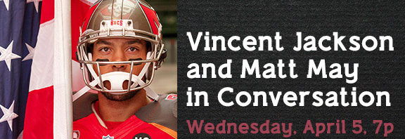 Tampa Photographer Matt May and Vincent Jackson in Conversation